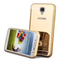 Case Bumper Mirror Slide For Samsung Galaxy S4
