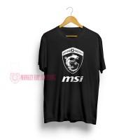 T-SHIRT / KAOS MSI BLACK WHITE 2202 - DEAR AYSHA