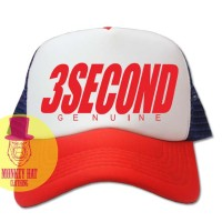 TOPI JARING TRUCKER HAT 3SECOND GENUINE 2702 - DEAR AYSHA