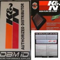 Filter Udara K&N Mazda RX8 kode 69 60301TFK