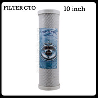Filter Air CTO 10inch Actived Carbon Block