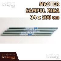 harga Master Sampul Mika 34x200cm Roll / 34 X 200 Cm / Buku / Plastik Tokopedia.com