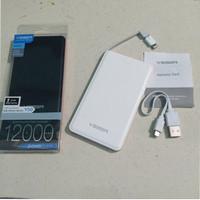 Powerbank VEGER 12000Mah Slim Original garansi resmi 1tahun