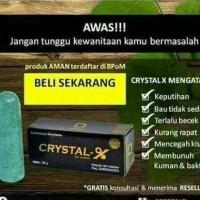 CRYSTAL X khusus wanita
