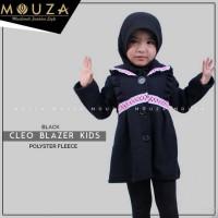 CLEO BLAZER KIDS BLACK BY MOUZA/OUTER MOUZA/BAJU MUSLIM ANAK BANDUNG