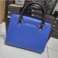 Tas Michael Kors MK Handbag Selma Medium Bicolour Semi Super Murah