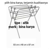Jemuran Handuk Alpha - Furniture Murah