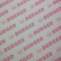 Grosir Kertas Nasi Logo Burger 30x30 KFC Paper Warp Kebab laminasi