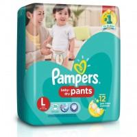 harga Pampers Popok Celana Baby Dry Pants L 26 Tokopedia.com