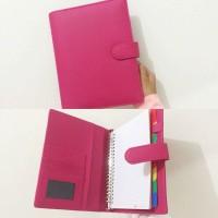 Binder Polos Pink / File 26 ring