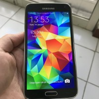 Samsung Galaxy S5 16gb Charcoal Black (SECOND) PREORDER KODE 737
