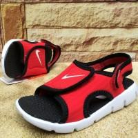 Sandal Anak - Nike Sunray Adjust 4 (Red / Black) Original