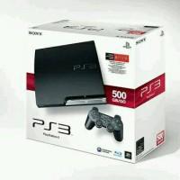 Ps3 Slim Sony + Hdd 500gb + 2 Stick warlles + Full Games