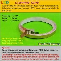 harga Copper Tape/tape Tembaga 5mm 3 Meter/3m Tokopedia.com