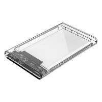 ORICO 2139U3 2.5 Inch SATA USB3.0 Enclosure Transparent