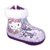sepatu boots anak perempuan lucu motif hello kitty