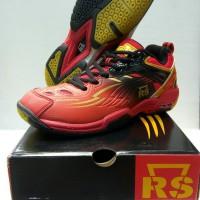 Sepatu Rs Superliga 800 Red Black Original