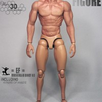 ZC Toys 1/6 Scale Muscular Body Seamless Arm