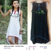HIGH LOW DRESS - COTTON 100%. Made in China