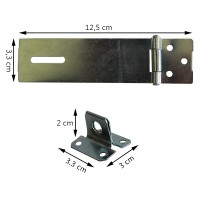 ELLIC KEG-OPEI Kunci Engsel Gembok Cocok Dipasang Di Pintu