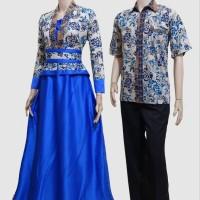 harga Couple batik sarimbit gamis baju pesta pasangan seragam SRG 486 Tokopedia.com