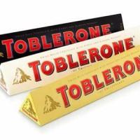toblerone coklat 100 gram (isi 20)