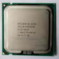 .:: Intel Processor Dual Core E5700 ::. (2M Cache, 3.00 GHz)