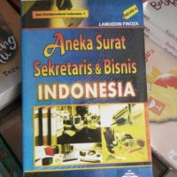 Aneka Surat Sekretaris dan Bisnis Indonesia ny Lamuddin Finoza