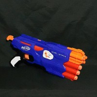 Jual Nerf Elite Dual Strike / DualStrike Pistol Mega Murah