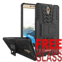 Softcase Rugged Dual Armor TPU Kick Stand Soft Case Coolpad Sky 3 E502