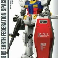 Gundam Robot RG 1/144 Rx 78-2 / Gunpla Real Grade