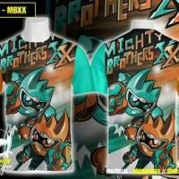 Kaos Full Print Mighty Brother XX