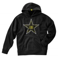 Jaket / Zipper / Hoodie / Sweater Rockstar - Hitam