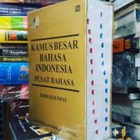 KAMUS Besar Bahasa Indonesia edisi ke 4 HC