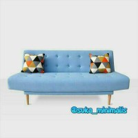 Sofa Retro minimalis Jati jepara