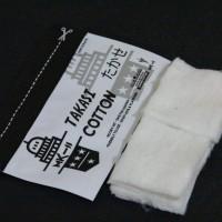Premium Takasi Organic Nature Cotton By MK-II Vape Authentic.