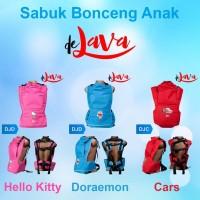Jual Sabuk Bonceng Anak De Java (Penahan Pantat + Tutup Kepala) Murah