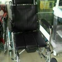 Kursi roda 3 in 1 SELLA / Kursi roda Sandaran rebahan n tempat BAB