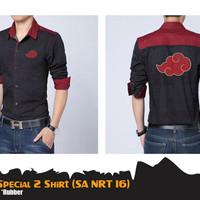 Kemeja Anime Naruto Akatsuki Special 2 Shirt (Kemeja Naruto SA NRT 16)