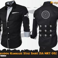 Kemeja Anime Naruto Rikudou Kamikaze Style Shirt (SA NRT 05)