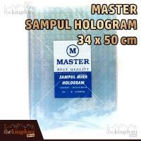 Master Sampul Mika Hologram 34x50cm / 34 x 50 cm / Buku / Plastik