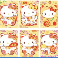 Jual Angpau / amplop imlek Hello Kitty Lucky Cat Murah