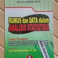 BUKU RUMUS DAN DATA DALAM ANALISIS STATISTIKA RIDUWAN ALFABETA pr