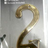 Harga no nomer rumah alamat ruko brass solid baut | antitipu.com