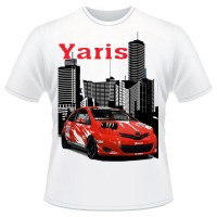 KAOS MOBIL YARIS MODIFICATION