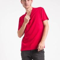 KAOS BASIC CREW NECK ORANGE MEN PAXTA BASIC TEES SHIRT ORIGINAL