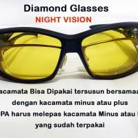 harga Kacamata Malam Polarized Tembus Pandang - Night View Glasses Tokopedia.com
