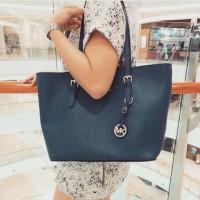 Tas Wanita MK Safiano Jetset Medium/ Michael Kors Tote Bag