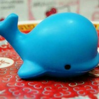 Whale Blue squishy ikan paus biru Murah