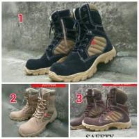 sepatu boots pria delta kickers suede safety zipper